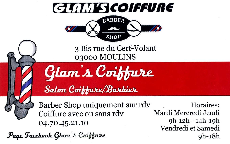 Partenaire Glam's Coiffure Moulins